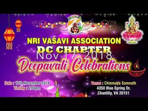 NRIVA DC - Diwali 2018 Promo