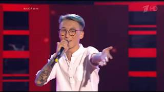 PSY - GANGNAM STYLE  (Yuri Pak) | The Voice of Russia | Blind Audition