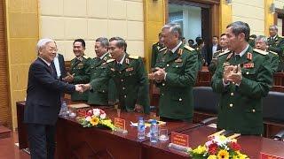 Tổng Bí thư Nguyễn Phú Trọng thăm và làm việc tại Tổng cục II, Bộ Quốc phòng