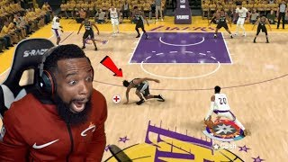 Lakers vs Spurs Playoff Elimination Game! I Broke His Ankles! NBA 2K20 Ep 27