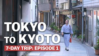 7-Day Trip from Tokyo to Kyoto: Episode 1   Japan's New Golden Route   japan-guide.com