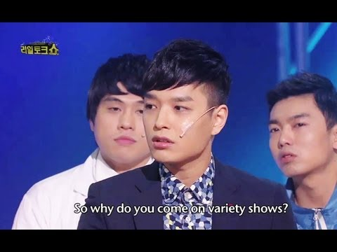 Gag Concert - Real Talk Show | 리얼 토크쇼 , with Simon D (of SupremeTeam) (2013.05.11)