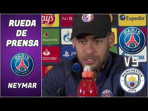 ¡IMPERDIBLE! Neymar, sobre su renovación con el PSG, Mbappé y el Manchester City. | Champions League