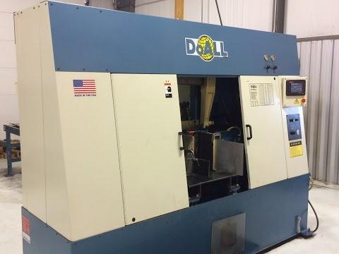 DoAll C-3350NC horizontal bandsaw Demo