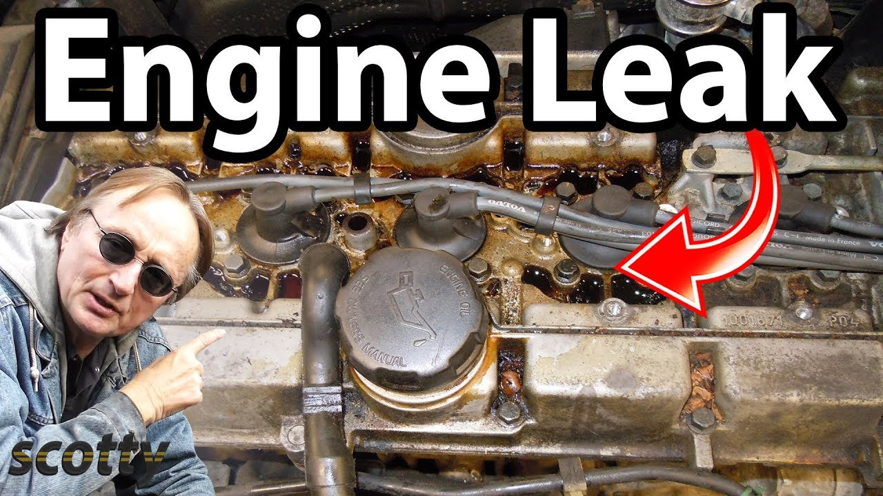Fixing A Common Engine Oil Leak - YouTube