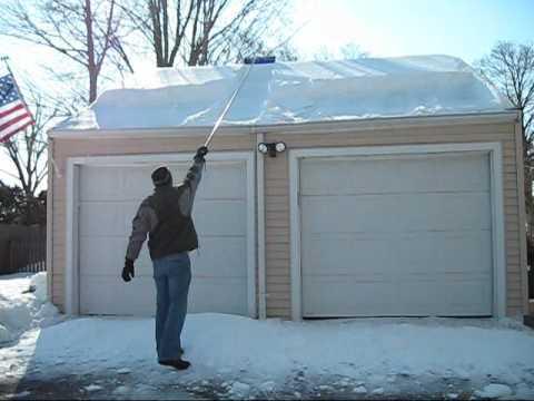 Snow Cutter Vs Roof Rake A Head To Head Comparison Youtube
