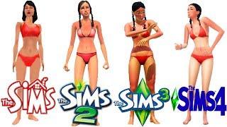 ♦ Sims 1 - Sims 2 - Sims 3 - Sims 4: Beach and Ocean - Evolution