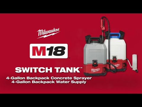Milwaukee M18BPFPH-0 18v Cordless Switch Tank 15 Litre Backpack Sprayer