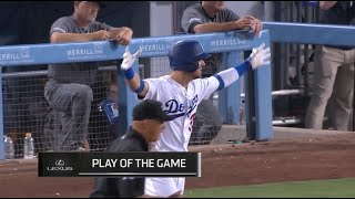 The Dodgers walk-off with 5 straight walks in the bottom of the 9th, a breakdown