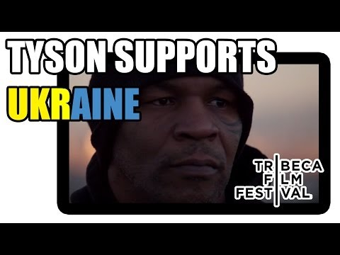 Mike Tyson promotes Champs and supports Ukraine