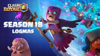 Clash Royale: Turn enemies into Hogs with the MOTHER WITCH (Season 18 Begins / New Legendary Card!)