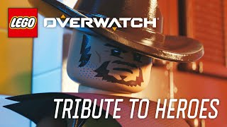 LEGO Overwatch - How Heroes Play Tribute Video - YouTube
