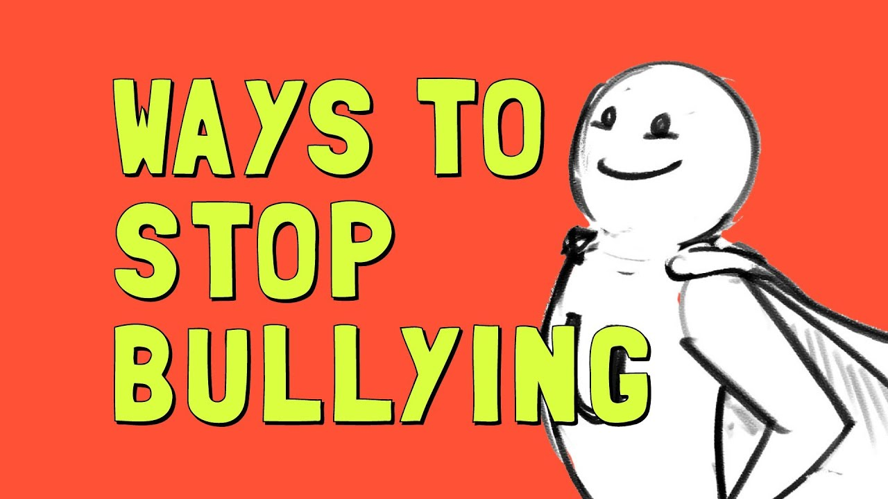 Ways to Stop Bullying - YouTube