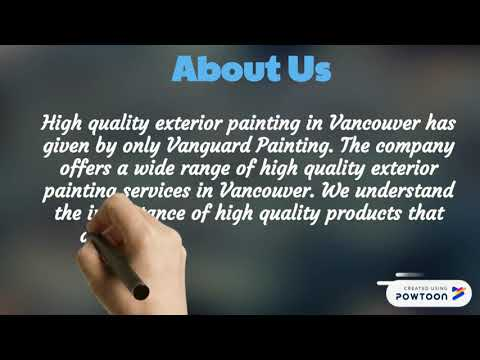 High quality exterior painting in Vancouver