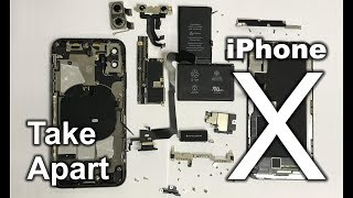 How to Take Apart the Apple iPhone X in 7 Minutes
