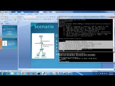 Configure PPPoE on Cisco Routers / Cisco ADSL PPPoE Configuration