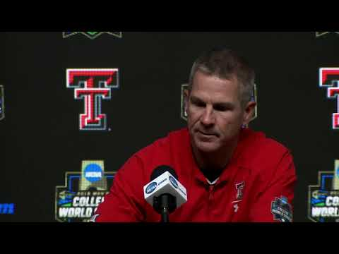 2019 College World Series: Postgame Press Conference | Game 5: Texas Tech vs University of Arkansas