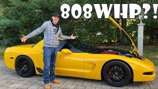 RPM Modified C5 Corvette Z06 Driving Review