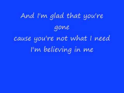 Monica - Believing In Me ( with lyrics )