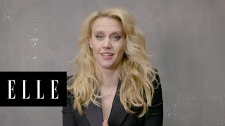 Ghostbusters Theme Song with Kate McKinnon's Best Accents | ELLE