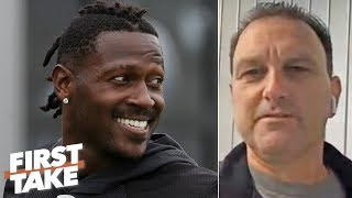 Antonio Brown's agent says AB didn't force his way off the Raiders to join the Patriots | First Take