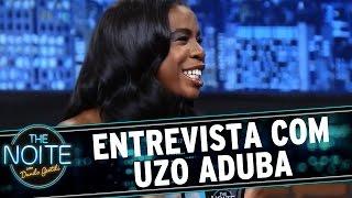 "The Noite (12/06/15) - Entrevista Uzo Aduba, de ""Orange is The New Black"""