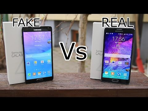 Fake vs Real Samsung Galaxy Note 4 - New Version - Best ...