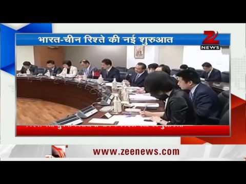चीन के विदेश मंत्री वांग यी से मिलीं सुषमा स्वराज