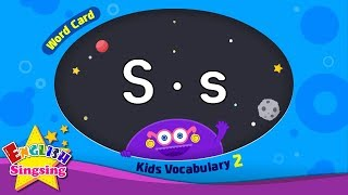 "Kids vocabulary compilation ver.2 - Words Cards starting with S, s - Repeat after ""Ting (sound)"""