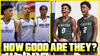 How GOOD Is SIERRA CANYON High School Team ACTUALLY? Ft. Bronny James , Zaire Wade & More!