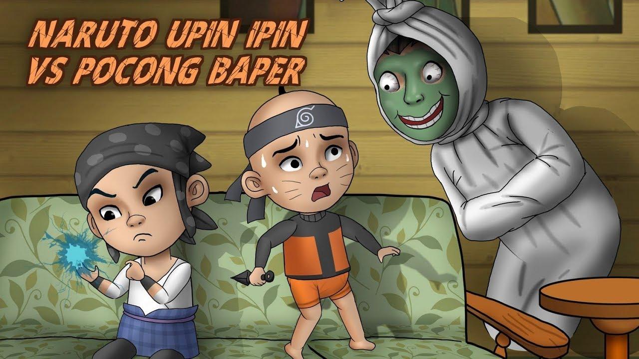 Serangan Hantu Hutan Angker Kartun Hantu Animasi Kartun