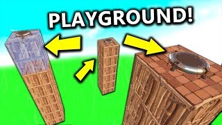 Fortnite: OBSTACLE COURSE in PLAYGROUND