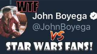 JOHN BOYEGA VS GEEKS & GAMERS: THE HEAVY HITTER ON TWITTER!!