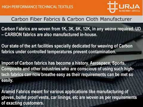 Carbon fiber fabrics & carbon cloth manufacturer