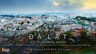 Vietnam - Da Lat The Romantic City by Drone 4K