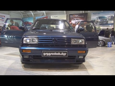 Volkswagen Golf Mk2 Rallye (1990) Exterior and Interior in 3D