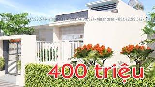 Ngôi nhà cấp 4 ĐẸP VÔ CÙNG mà GIÁ QUÁ RẺ chỉ với  400 TRIỆU ĐỒNG! (M40)