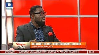 Police Should Guard Against Voter Intimidation - Babajide Ogunsanwo | Sunrise Daily |