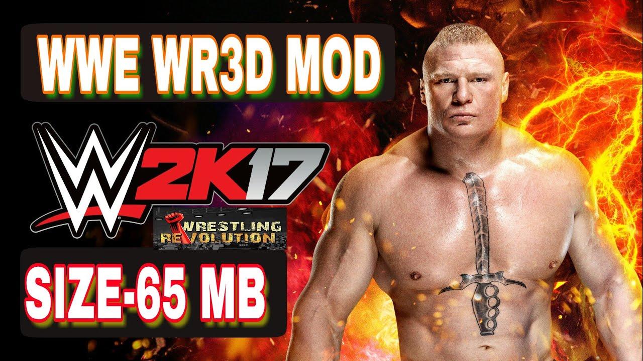 WRESTLING REVOLUTION 3D WWE MOD GAME FREE DOWNLOAD