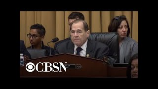Rep. Jerry Nadler opens Judiciary hearing after Barr refused to appear