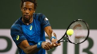 ATP R3 Monfils Hot Shot