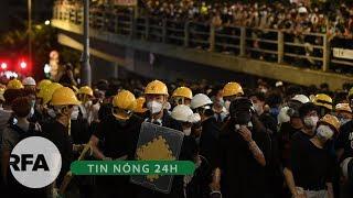 Tin nóng 24H | Hàng ngàn người dân Hong Kong tiếp tục biểu tình yêu cầu hủy bỏ luật dẫn độ
