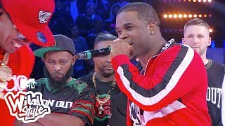 A$AP Ferg Leaves Nick Cannon Asking For Mercy 😱 | Wild 'N Out | #Wildstyle
