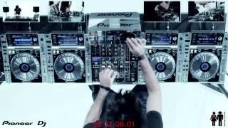 Gabry Ponte mixing 25 SONGS in 3 MINUTES !!!