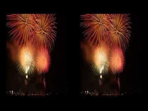 3D Timelaps Toride Fireworks 2015