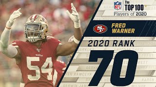 #70: Fred Warner (LB, 49ers)   Top 100 NFL Players of 2020