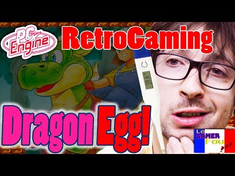 Dragon Egg Sur Nec PC Engine le Test RetroGaming