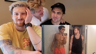 REACTING TO SAD VIDEOS OF US MOVING OUT!!