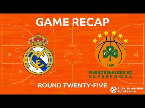 Real Madrid BC vs Panathinaikos