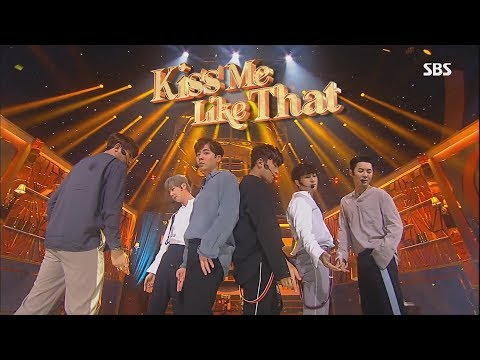 신화 (Shinhwa) - Kiss me like that 교차편집 Stage compilation